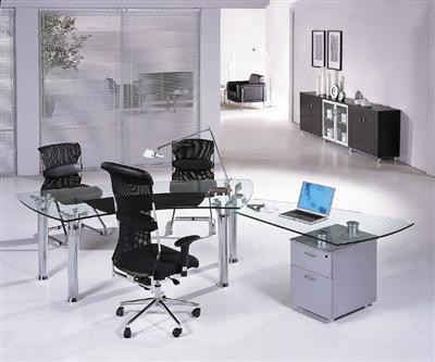 Modern Glass Desks Executive Desks Modern Office