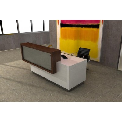 ultra modern goodland reception desk
