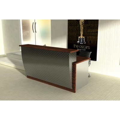 kansas city modern reception desk