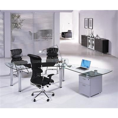 modern glass desks | Executive Desks & Modern Office ...