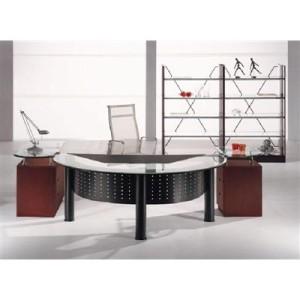 Mand Glass Desk