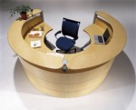 Ares Modern Reception Desk