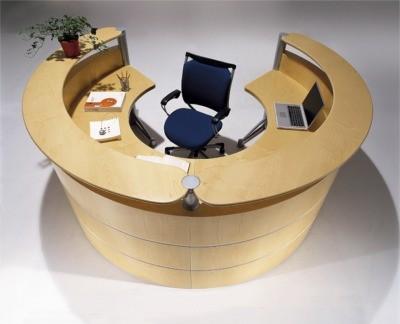 Ares Modern Reception Desk